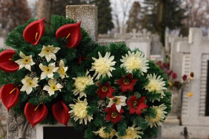 Grabgesteck oder geldspende for Gestecke fa r weihnachten selber machen
